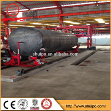 High quality carbon steel wave plate MIG automatic welding machine