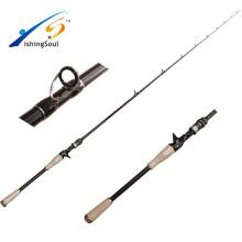 BAR001 gros matériel de pêche Nano graphite canne à pêche basse tige