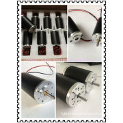 Permanent Magnet Tubular Brushed Dc Electric Motor 50w