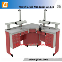 Two Person Dental Work Bench/Dental Lab Workstation