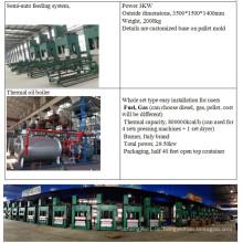 Hicas Sawdust Palette Komprimierte Palettenmaschinen