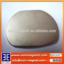 Imán de la forma redonda de la tierra rara 38sh para la venta / imán oval grande del ndfeb de la forma para la venta