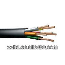 Tensão nominal do cabo de controle do PVC XLPE 450 / 750V 600 / 1000V