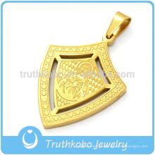 Proveedor de acero inoxidable de la joyería de descuento de la medalla religiosa de nuestro Señor Jesucristo de China