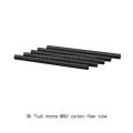 3K composite carbon glass fibre poles tubes