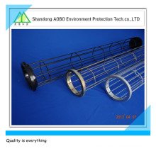 dust collector filter bag bone cage with organic silicone spray bag cage