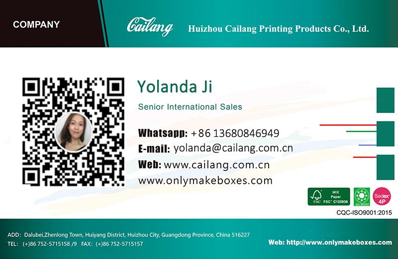 Yolanda Name Card