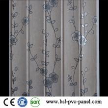 2015 Laminiertes neues Design-Muster 25cm Wellen-PVC-Wand-Verkleidung