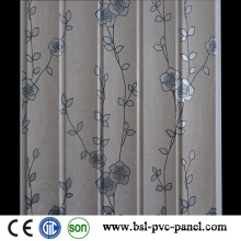 2015 Laminated New Design Pattern 25cm Wave PVC Wall Panel