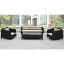 Modern 4 Pieces Outdoor Rattan Garden Sofa Set (OT21)