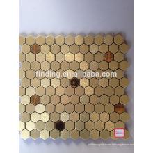 Unregelmäßigen Stil ACP-selbstklebende dekorative Mosaikfliese