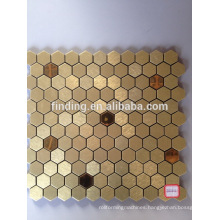 Irregular style ACP self- adhesive decorative mosaic tile