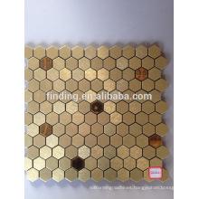 Irregular style ACP self- adhesive decorative mosaic tile