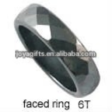 2012 new design cut noodles hematite ring