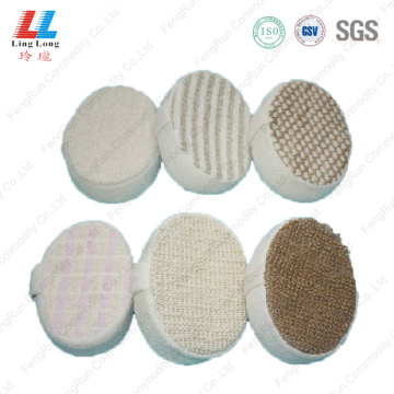 Handle circle soft bath sponge