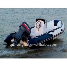 CE small rib 270 300 330 CE fiberglass inflatable boats