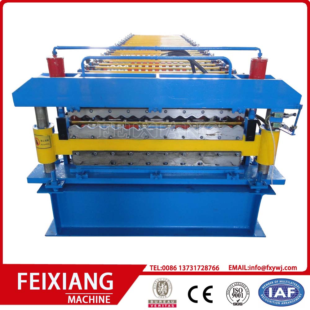 Mesin Rolling Roll Panel Lapisan Double Layer