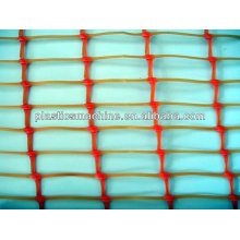 plastic machine for warning barrier fence