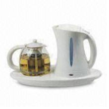 1.7 Electric Kettle with 1.2L Tea Maker