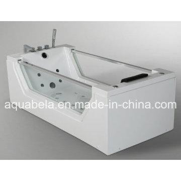 2015 El nuevo estilo CE aprobó la bañera de cristal del masaje del Jacuzzi (JL824)