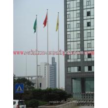 2016 New Modern Hotel Decoration Acier inoxydable Flagpole