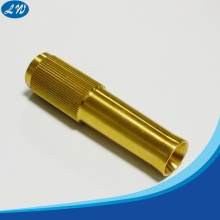CNC Turning Knurled Brass Shaft