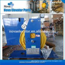 Dispositivo de tensión azul y amarillo