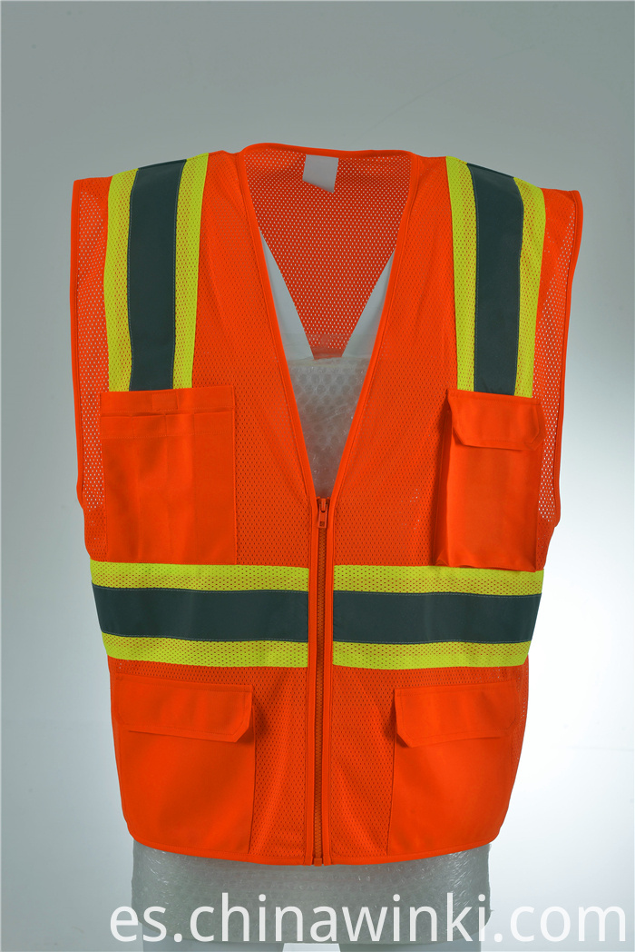 safety vest with pocket