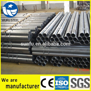 ERW steel pipe for crash barrier with ISO CE SGS