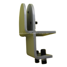 Max 12mm Glazing Office Desk Clamp