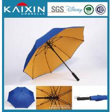 Double Layer Auto Open Golf Umbrella