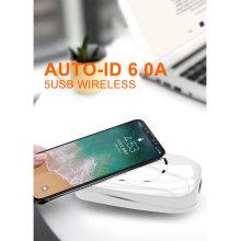 5 carregador de mesa sem fio USB AUTO-ID