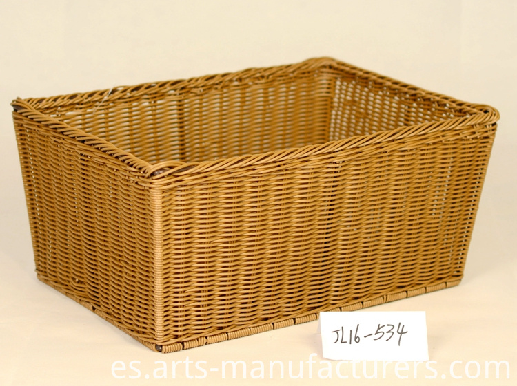 rectangular storage basket