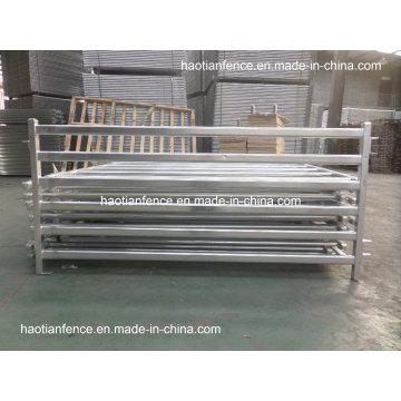 30X60mm Oval Rails Livestock Panels