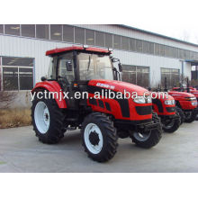 50hp 4x4 wheels driven tractor