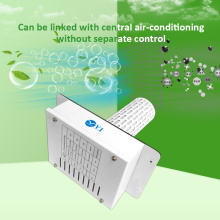 Central air conditioner air purifier