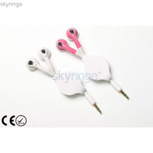 2013 New Style Retractable in-ear Earphone with high quality
