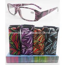 Senhoras óculos de leitura com display (DPR008)