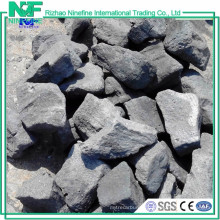High fixed carbon sizes 90 - 150 mm foundry coke