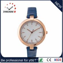 Simples, mas agradável venda quente senhora quartzo todo relógio de aço inoxidável