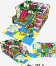 Xiamen Wood Indoor Plastic Composite Playground Structure