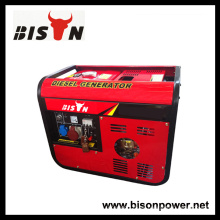 Bison China Zhejiang 3000Watt 3KVA 3KW Mano Inicio Digital silente generador eléctrico Diesel portátil
