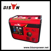 Bison Chine Zhejiang 3000Watt 3KVA 3KW Main Start Générateur électrique numérique silencieux Diesel portable