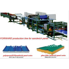 EPS composite panel roller machine