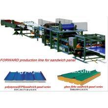 Máquina composta da telha de telhado do painel do EPS