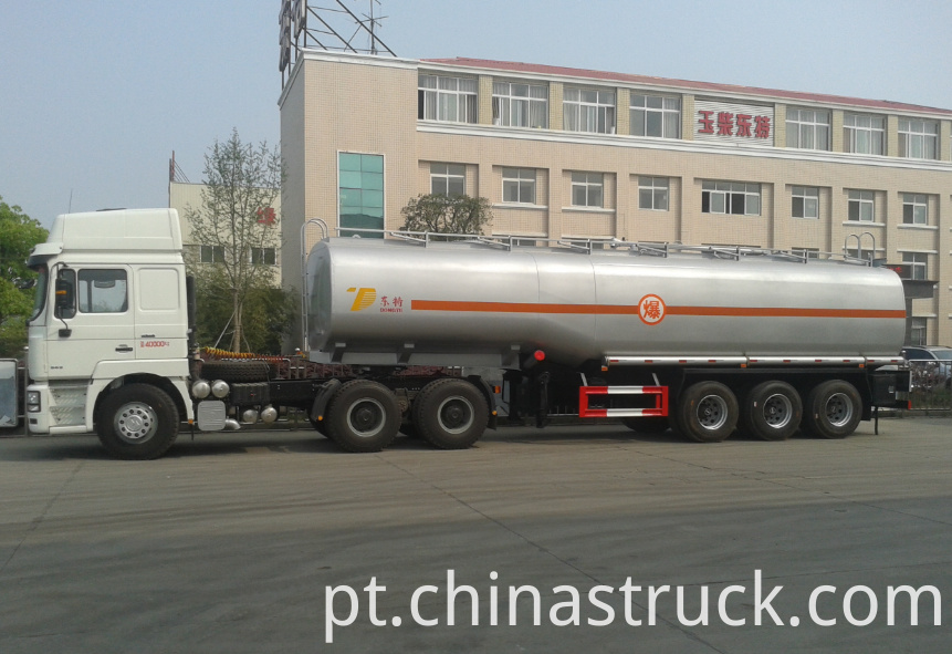 40000 liters fuel tank trailer