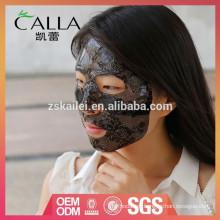 Máscara facial hidratante de hidrogel de encaje profesional con alta calidad
