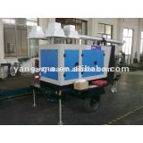 water cooled mobile movable 4	All Directional Trailer Mounted Light Towers With Remote Control 10KW max 9m 1000W*4pcs