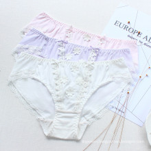 Japaness Teenage Sweety Girl Pantities 3D Floral Briefs Soft Cotton Underwear