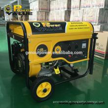 Kanton Messe meistverkaufte Produkt 5Kva Elektrische Benzin-Generatoren 5KW zum Verkauf
